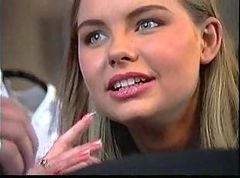 Russian beauty banged
