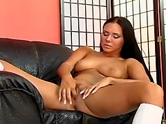 Perfect Brunette Bends Over And Spreads