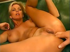 Exotic pornstar T.J. Hart in incredible blonde, anal adult video