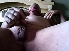 Fucking fake pussy sniffing wife dirty panties
