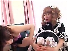 three lustful japanese shemales exploring their fantasies o