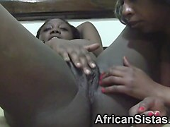african lesbians simone and yvonne sitting on faces