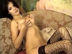Best Homemade clip with Stockings, Solo scenes
