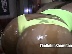 ambitious booty  sexy thick booty fucked by stripper king kreme clip