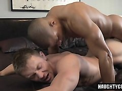 big cock son anal sex with creampie