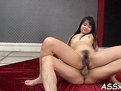 fantastic japanese anal riding sex movie 1