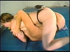 hard-core lesbian sex fight on academy wrestling