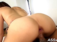 fantastic japanese anal riding sex clip 1