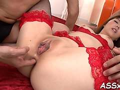 japanese anal toying and fucking clip segment 1