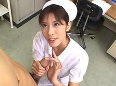 penis Asian nurse sucking