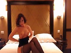 Fabulous Homemade movie with Stockings, Solo scenes