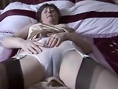 Amazing Homemade clip with Stockings, Solo scenes