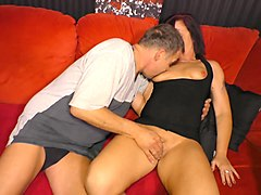 xxx omas - horny german amateur granny gets cum covered in steamy hard fuck
