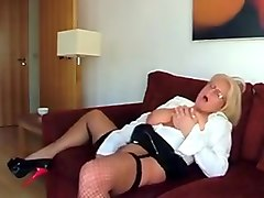 Fabulous Amateur record with Stockings, Mature scenes
