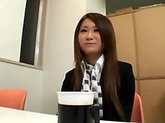 Incredible Japanese chick in Crazy Secretary, Stockings JAV scene