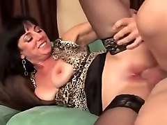 Horny Homemade clip with Stockings, Mature scenes