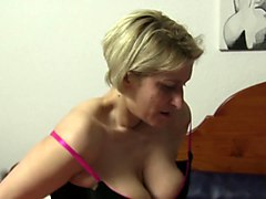 xxx omas - naughty lesbian threesome with german grannies and their sex toys