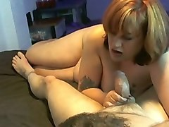 my bbw wife sucks my dick like yummy candy