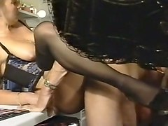 magnificent german vintage ladies tasting cum after sex