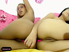 these two latina coeds are definitely not shy and they love their vibrators