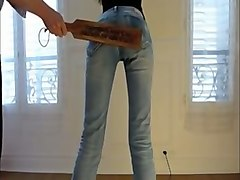 french amateur slender gf of my buddy has nothing against spanking