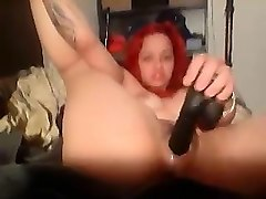 fat transsexual toying his ass