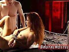 extreme french rough gangbang and bdsm fucking ass first tim