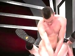 hot gay ass massive dildos movie in an acrobatic 69, axel ab