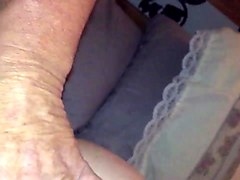 fucking my wife&#039_s creamy grool filled pussy while fingering her tight asshole