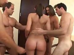 Jordana James Gets A Group Facial