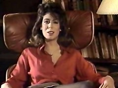 Vintage Stockings Scene With Christy Canyon