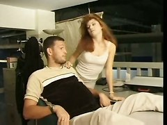 French Tight Red Head Gets Anal Ripped