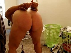 Spanking  With Nipples Clamped