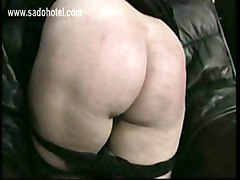 Naughty Nun With Her Panties Down Is Spanked On Her Ass By Older German Priest