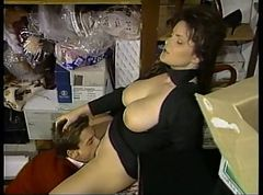 Hot milf gets fucked by young cock
