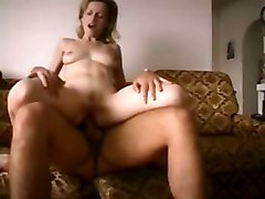 Amateur Blond Milf Fucking Younger Man With Facial
