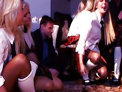 Gangbang In Russian Institute