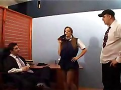 British - Headmasters Dirty Secret In The Office -