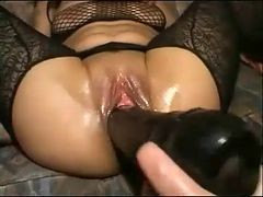 Extreme Toying And Fisting Hot Brunette